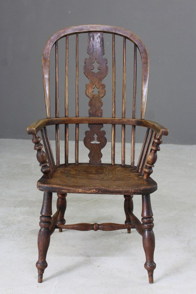 Antique Elm Windsor Chair - Antique Elm Windsor Chair For Sale At Pamono