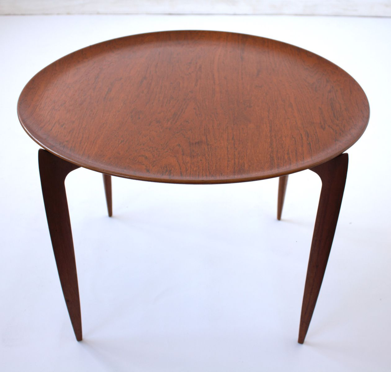 Teak Table With Collapsible Top By Svend Aage Willumsen U0026 H. Engholm For  Fritz Hansen, 1950s