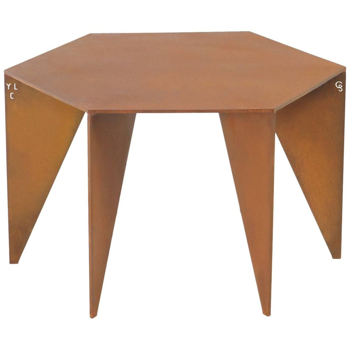 Brutalist Table by Yoan Claveau de Lima for LES CHOSES EDITION