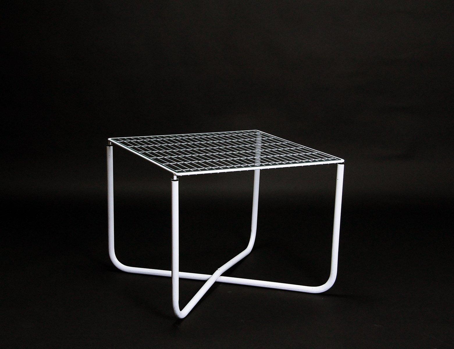 postmoderner wei er jarpen tisch von niels gammelgaard f r ikea 1983 bei pamono kaufen. Black Bedroom Furniture Sets. Home Design Ideas