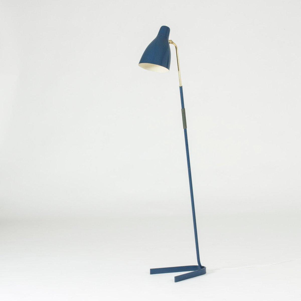 Stehlampe aus lackiertem Metall von Boréns, 1950er
