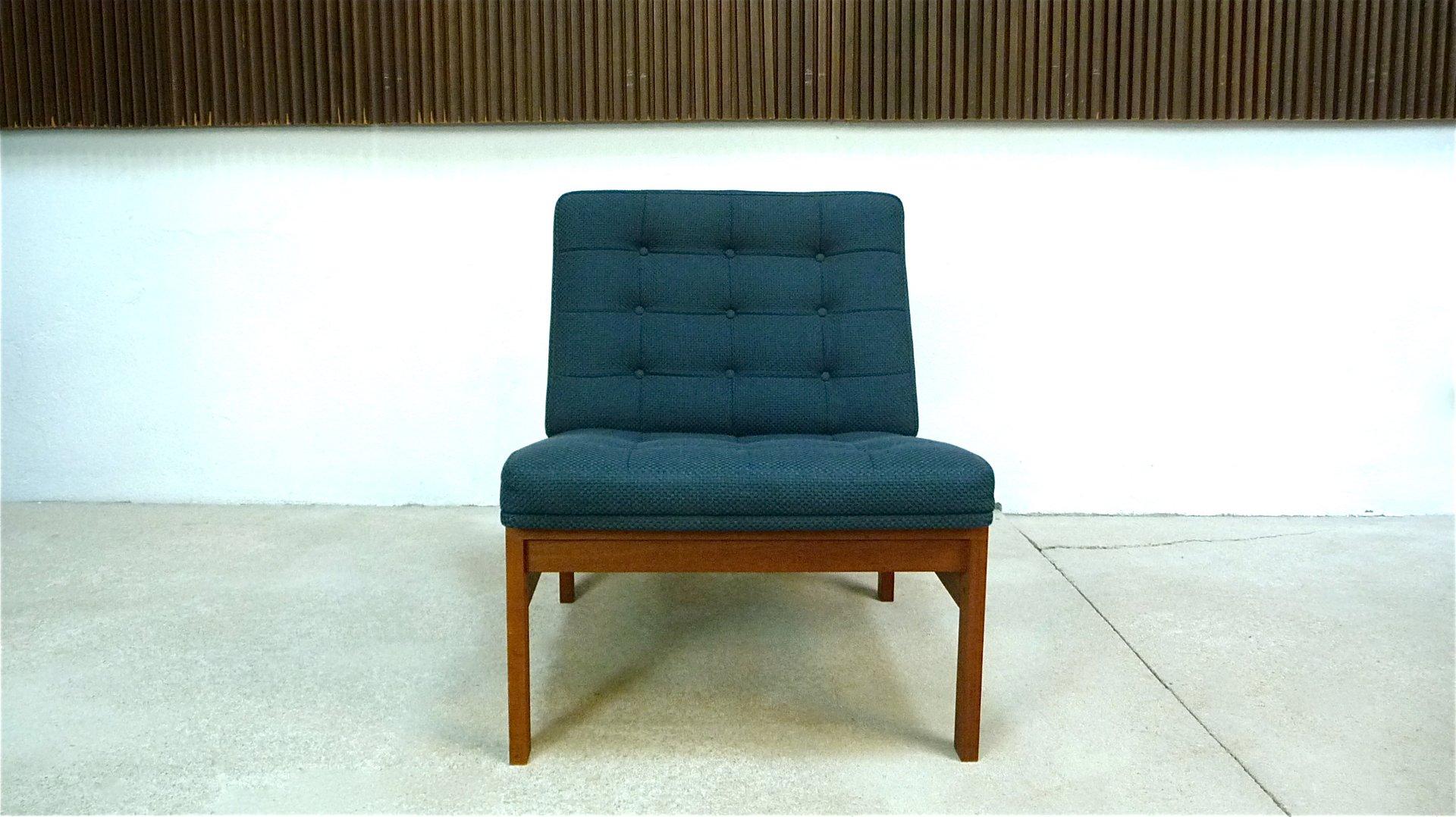 Danish Teak Easy Chair by Ole Gjerlov-Knudsen & Torben Lind for France...
