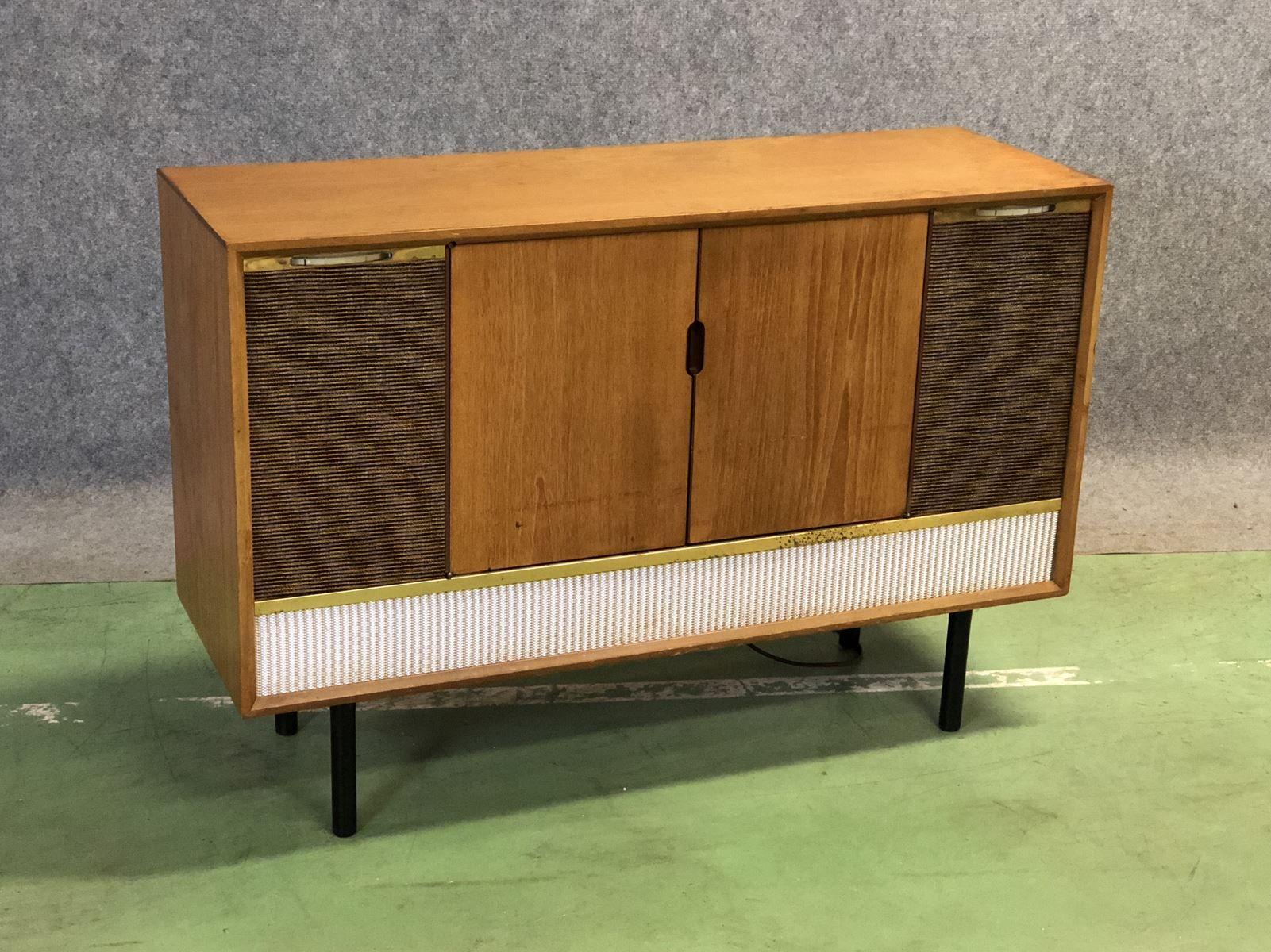 Hi-Fi Teak Commode, 1970s