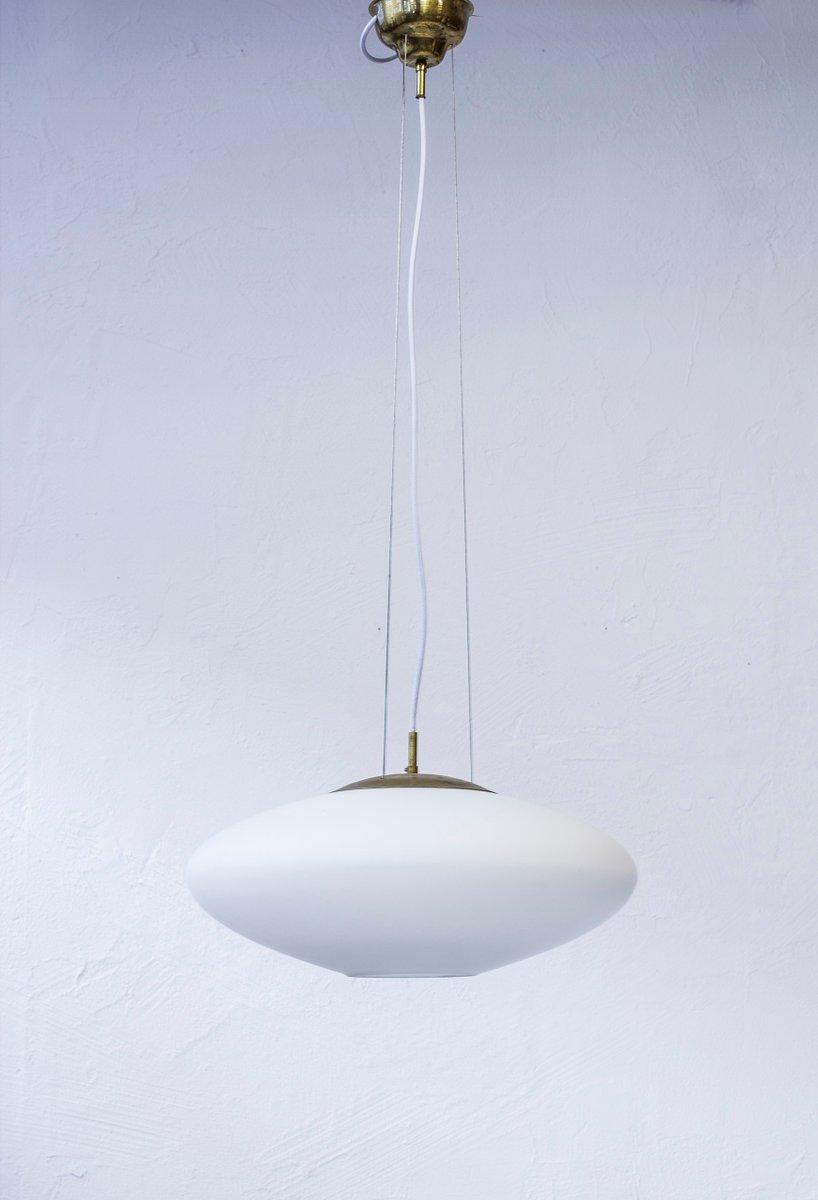 Ceiling Light by Hans Bergström for ASEA, 1950s