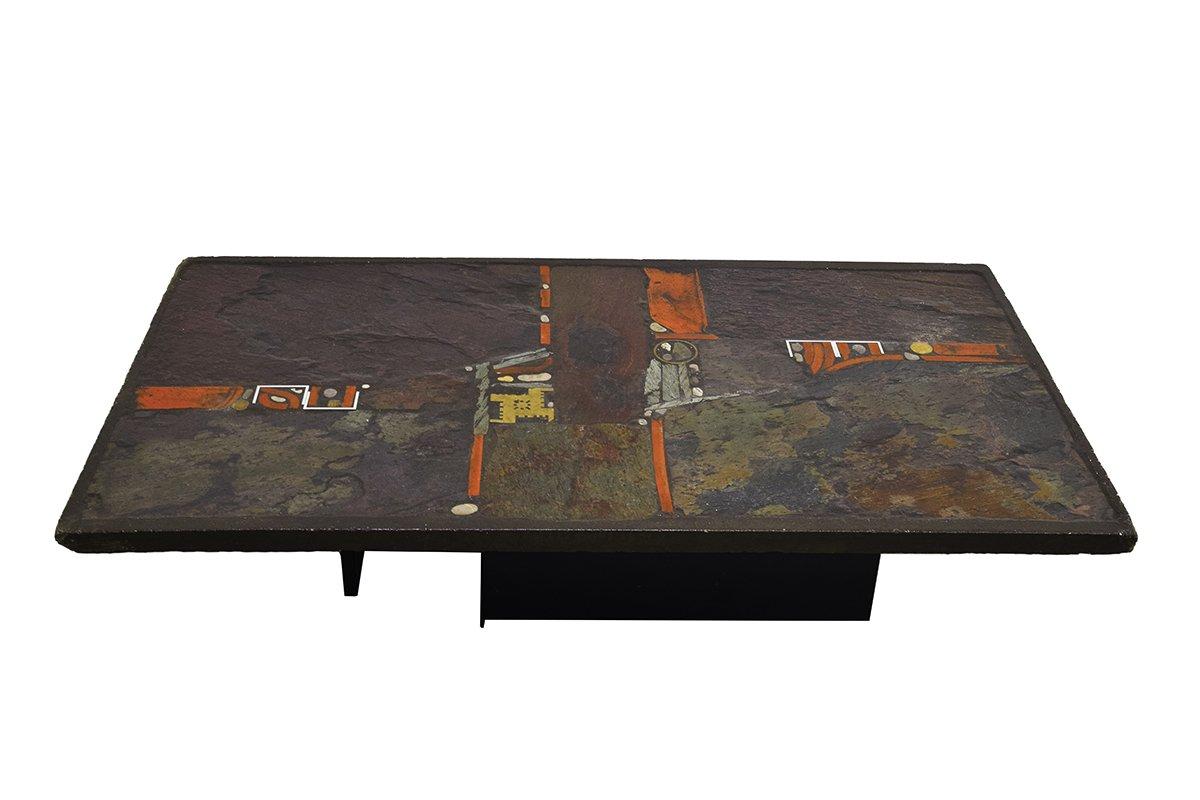 Handmade Coffee Table by Paul Kingma, 1970s