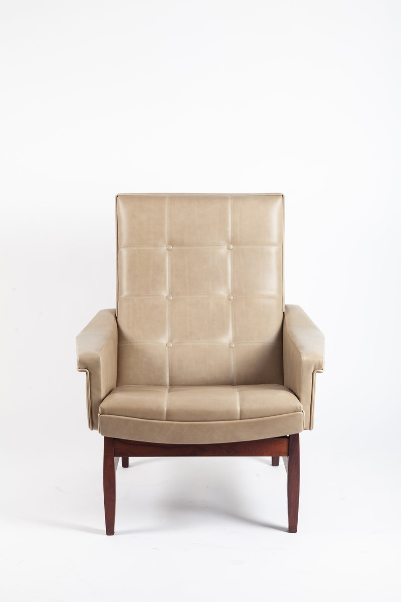 Leather Armchair, 1960s
