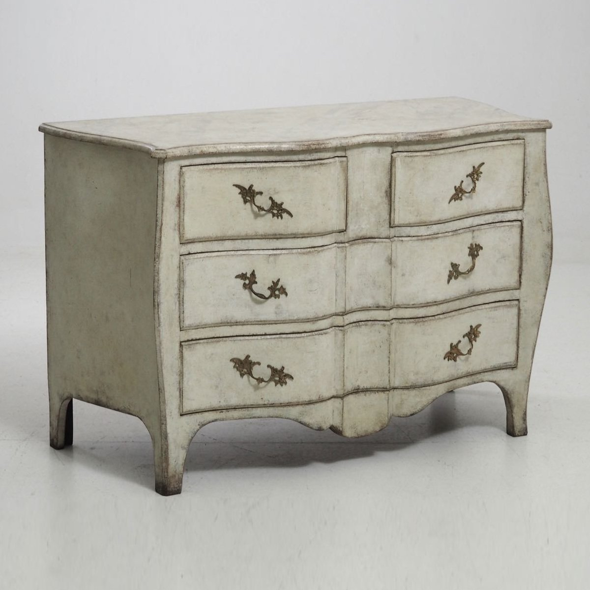 Antique Rococo Style Dresser For