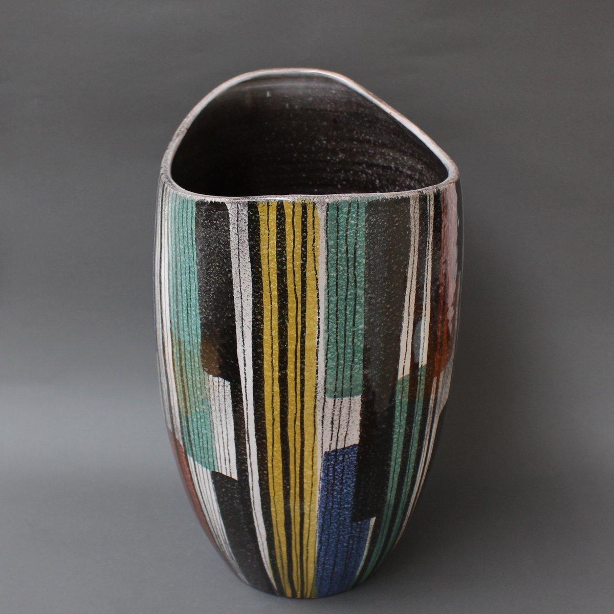 Large Italian Ceramic Vase 1950s 12 1 651 00 Price Per Piece
