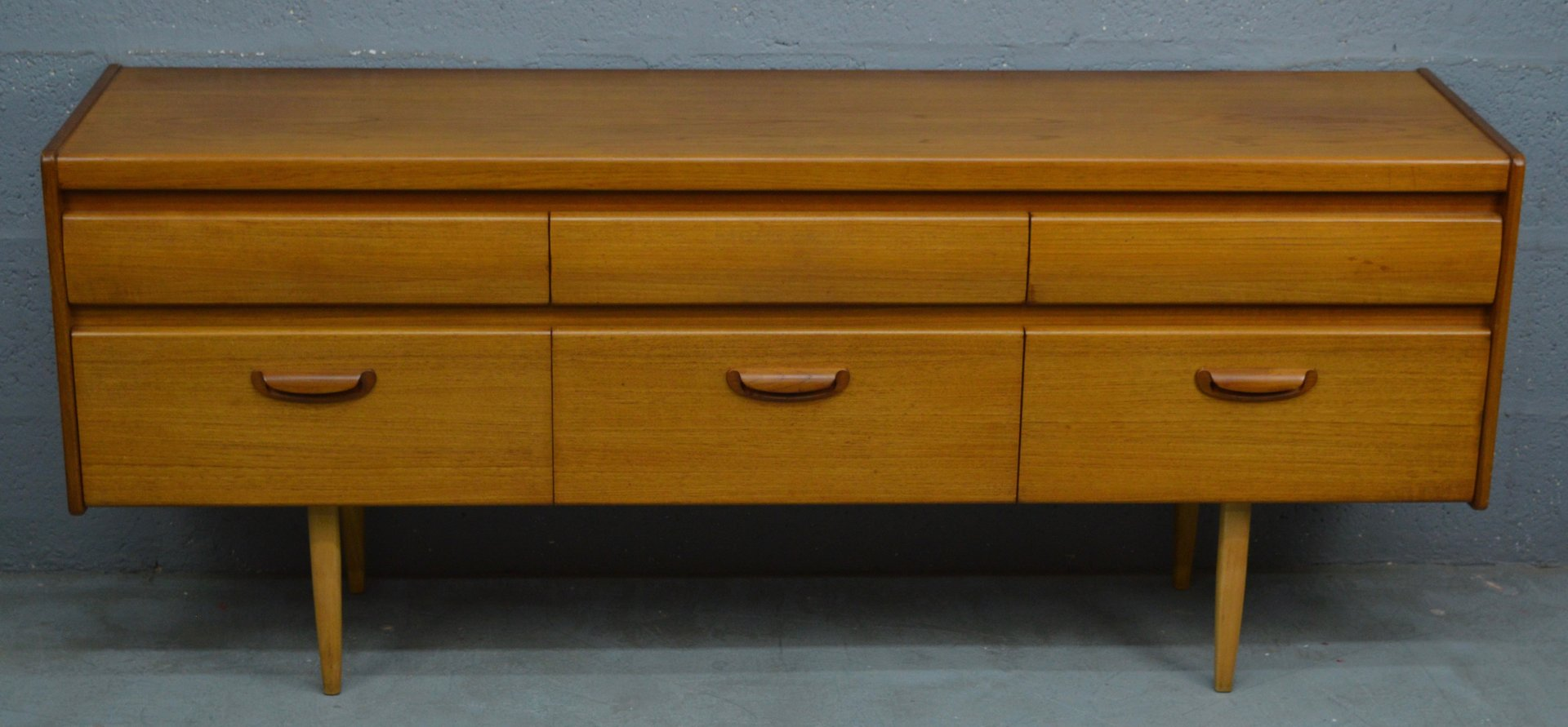 Mid-Century Teak Chest of Drawers from William Lawrence