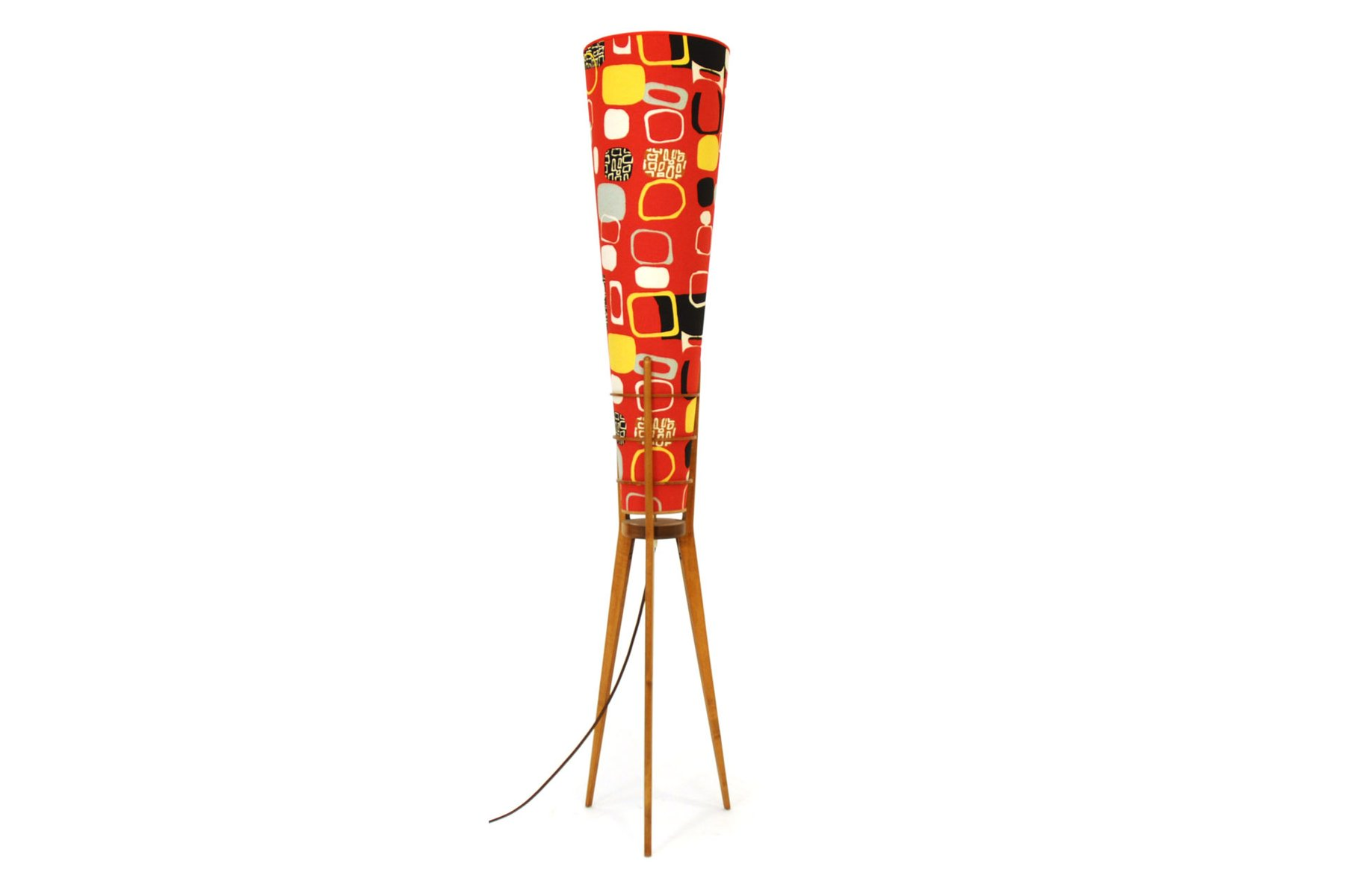 Österreichische Stehlampe, 1950er