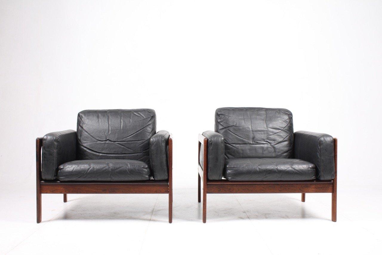 Sessel aus Palisander von Komfort, 1960er, 2er Set