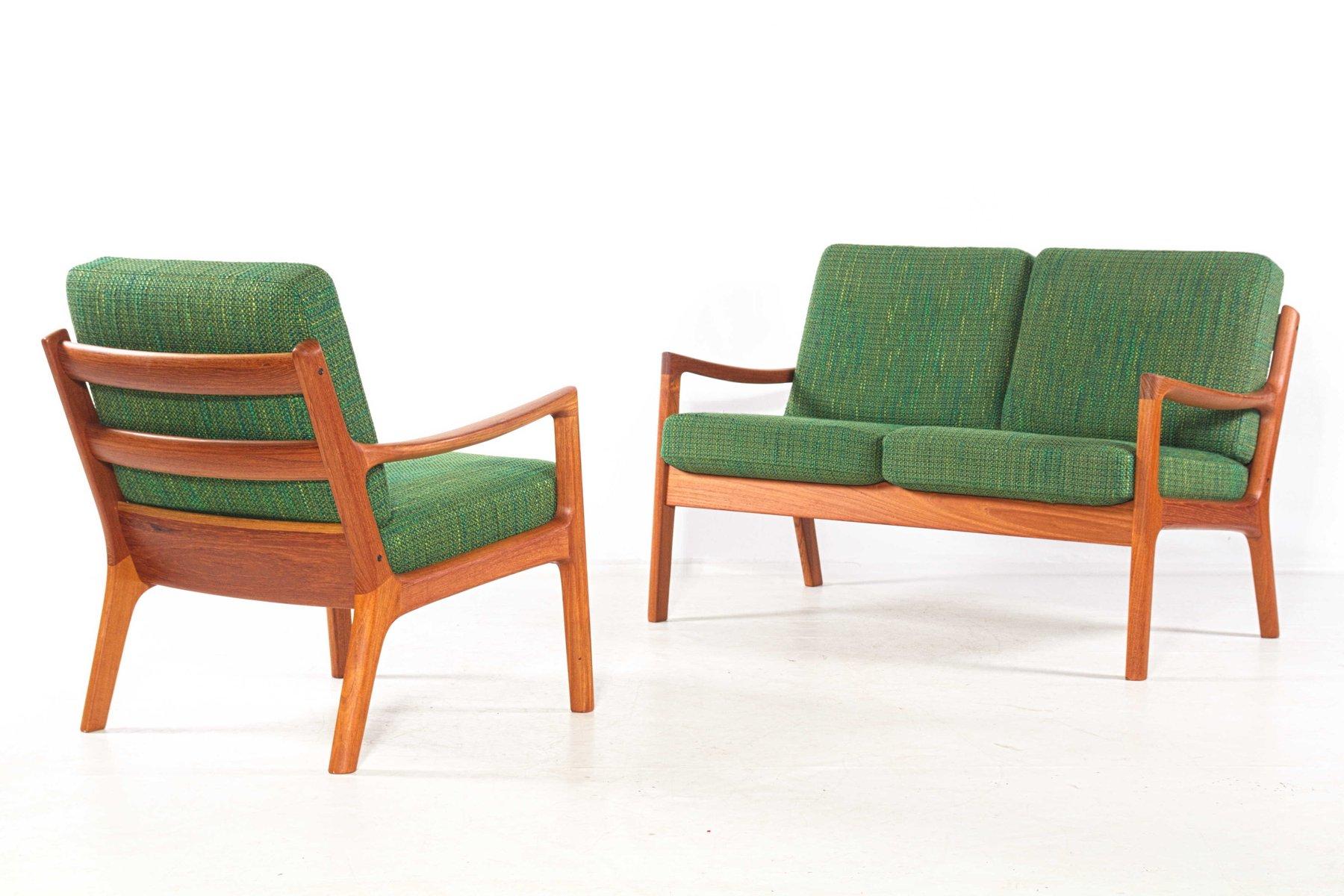 Senator Series 2 Sitzer Sofa Sessel Aus Teak Von Ole Wanscher Für