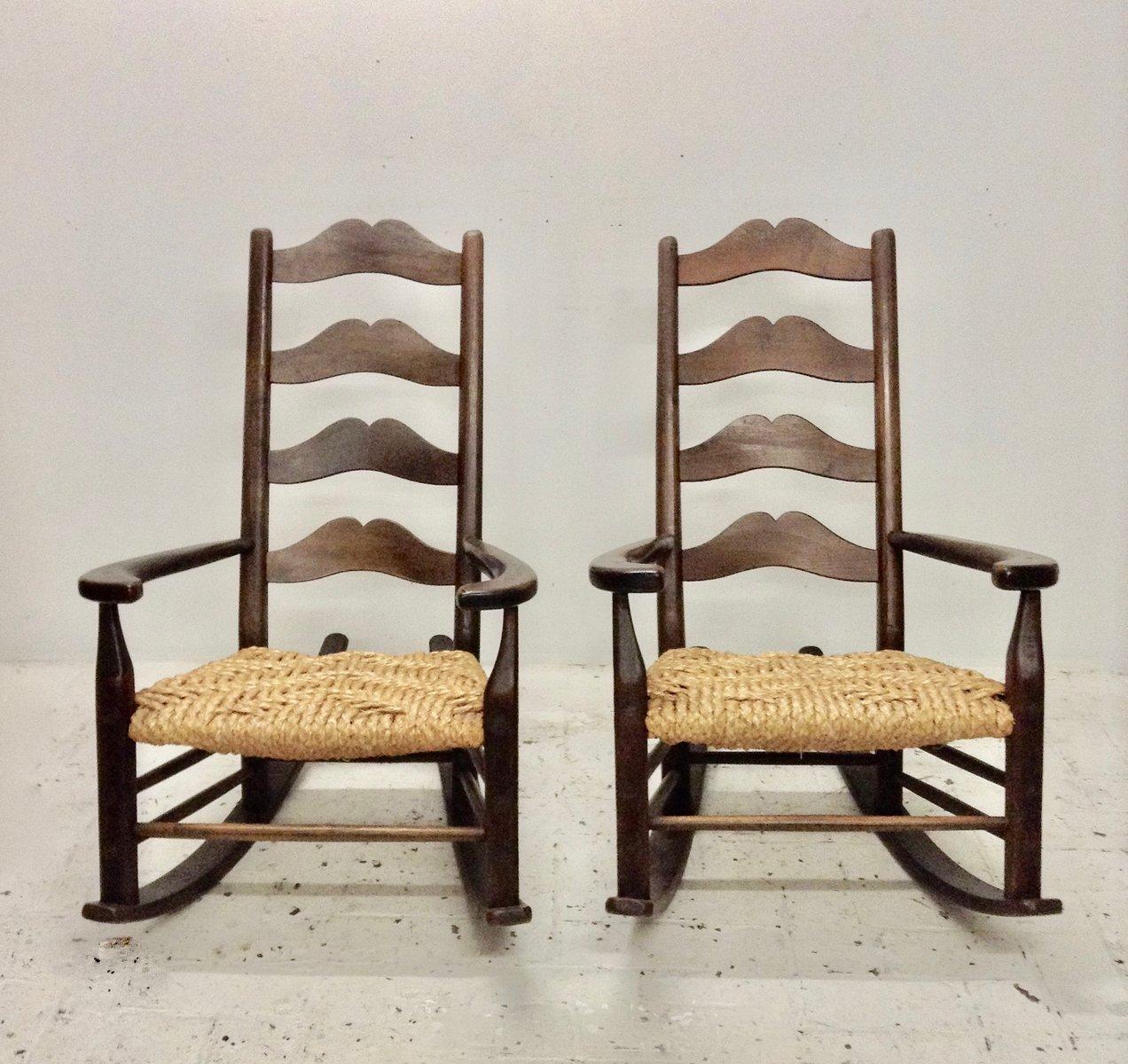 Vintage Schaukelstuhl vintage schaukelstuhl bei pamono kaufen