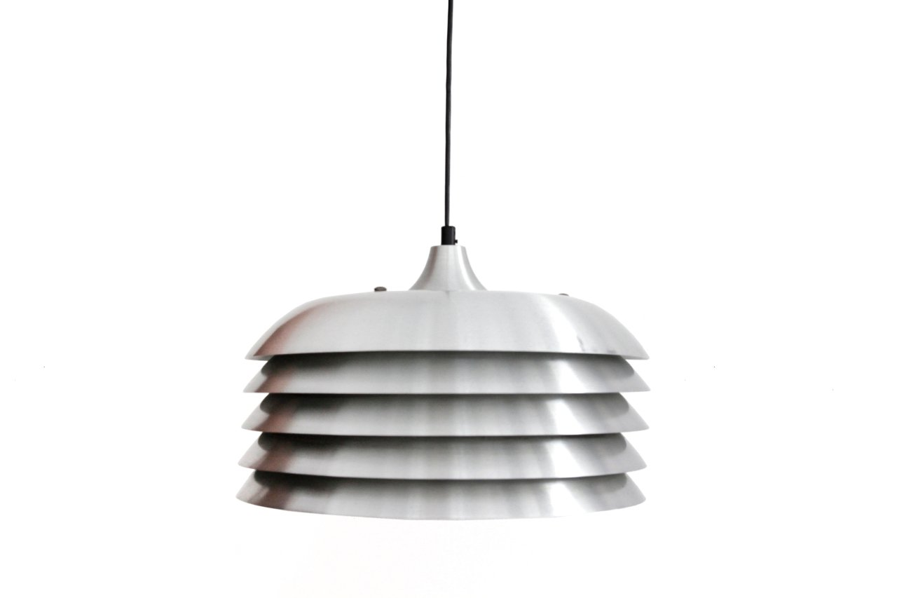 Aluminium Deckenlampe von Hans-Agne Jacobsson für Hans-Agne Jakobsson ...