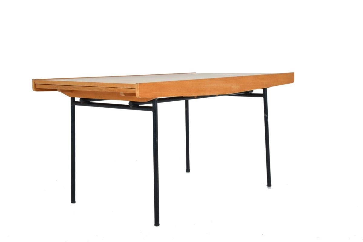 Ausziehbarer Esstisch von Pierre Guariche, 1950er