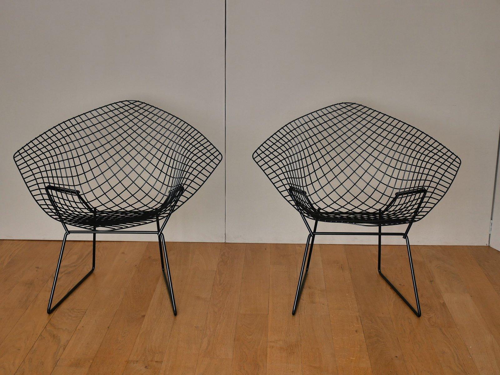 Diamond Chairs von Harry Bertoia für Knoll, 1970er, 2er Set