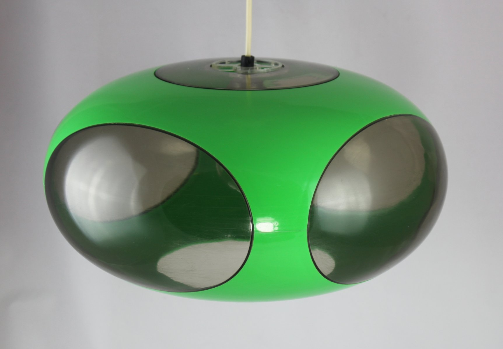 Grüne UFO Lampe von Luigi Colani, 1970er