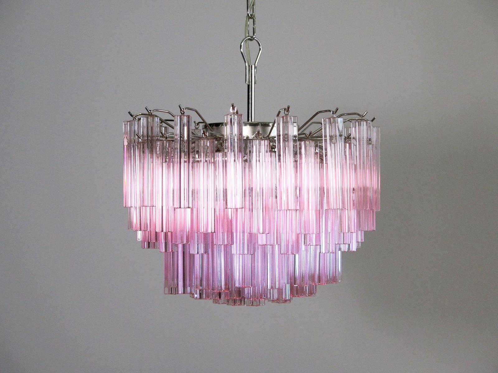 Ricambi Plafoniere Vetro : Lampadario vetro murano rosa: carlo moretti lampada ovale di