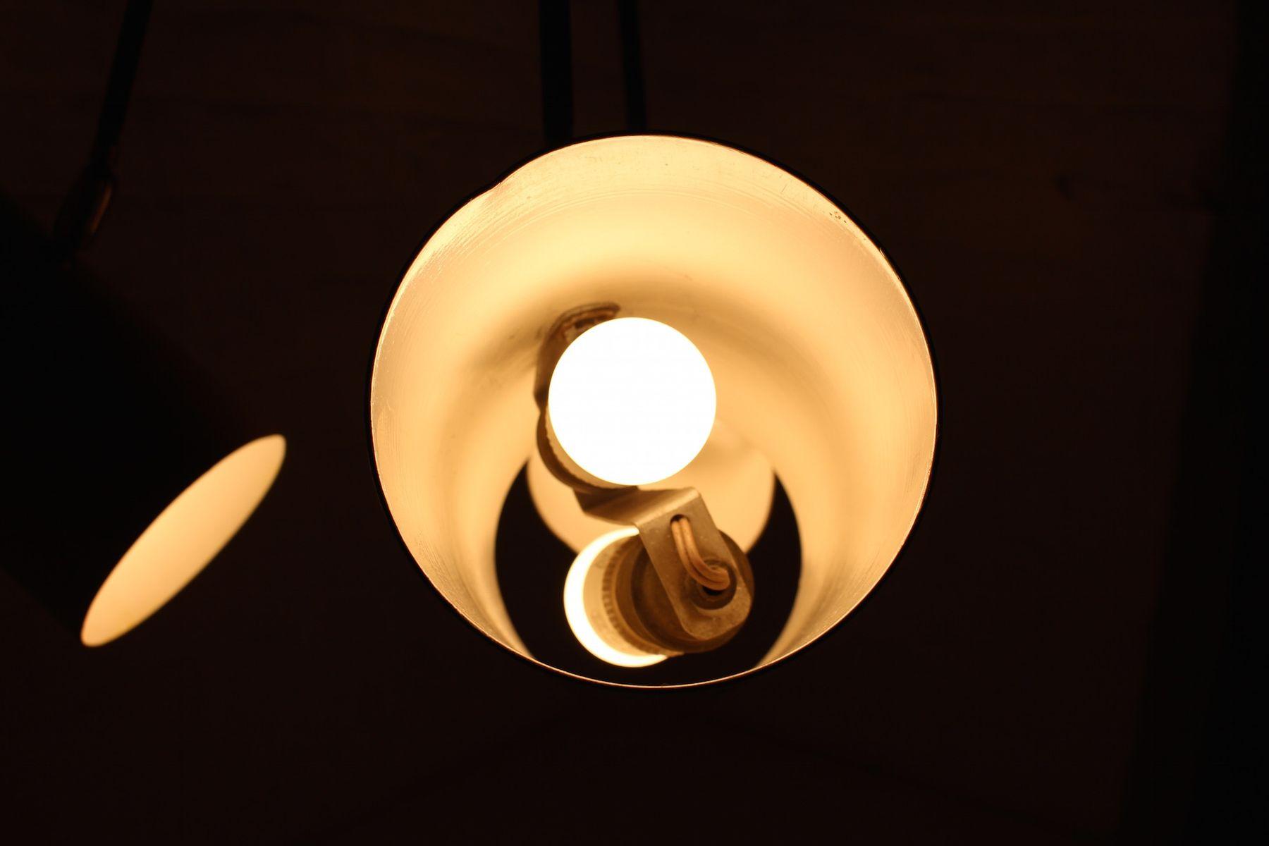 Moderne Lampen 13 : Moderne drehbare hängelampe 1950er bei pamono kaufen