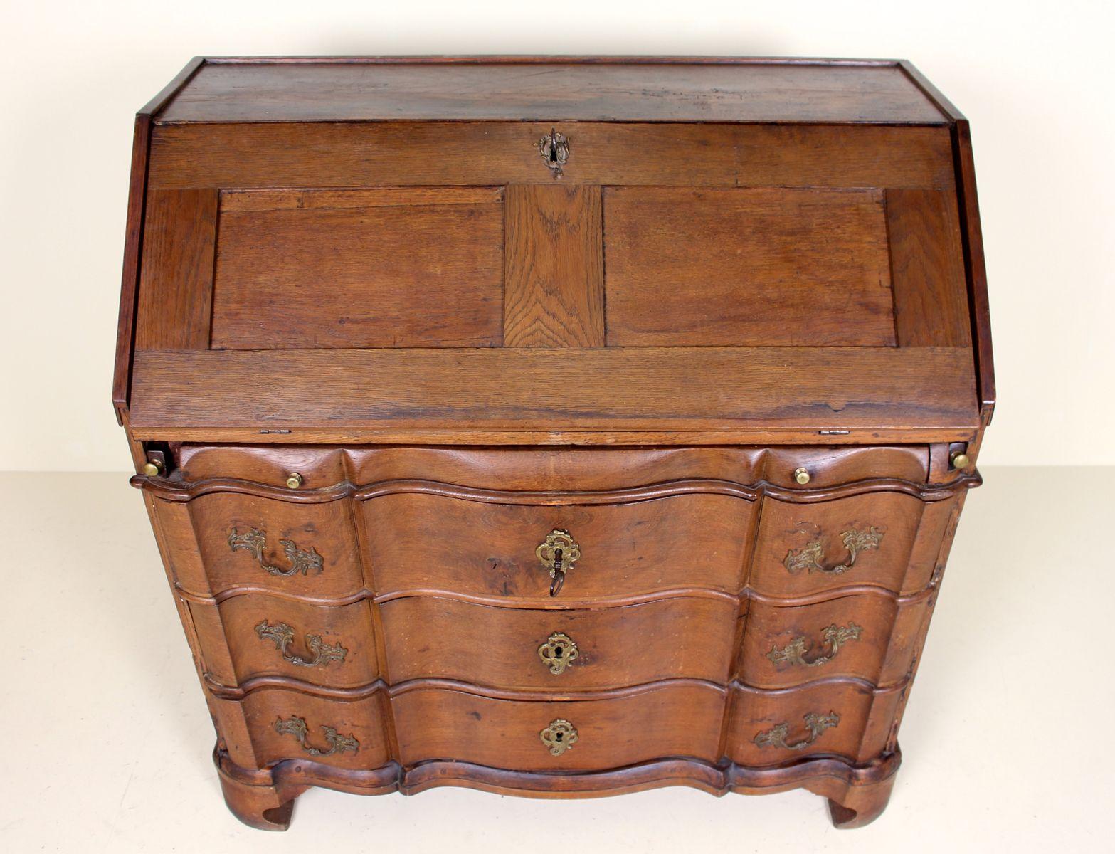 Antique Swedish Nautical Desk - Antique Swedish Nautical Desk For Sale At Pamono