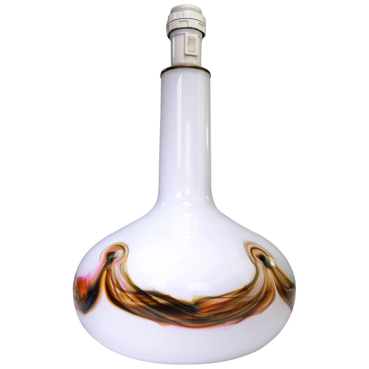 Moderne Glaslampe von Per Lütken für Holmegaard, 1970er