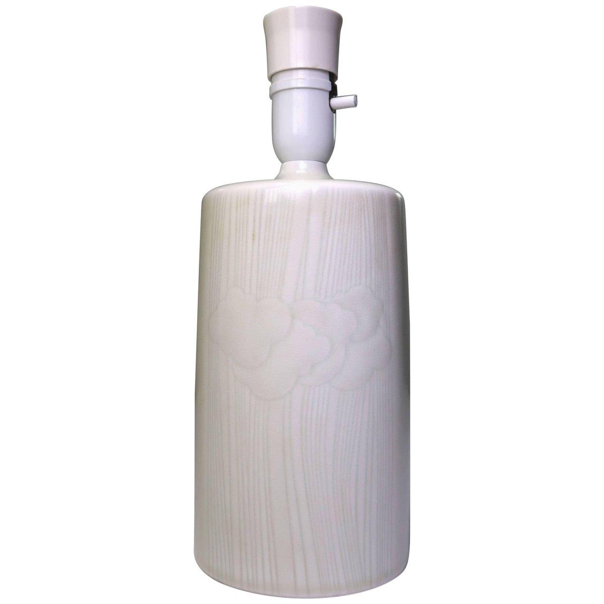 Mintgrüne Tischlampe von Olle Alberius für Rorstrand, 1960er