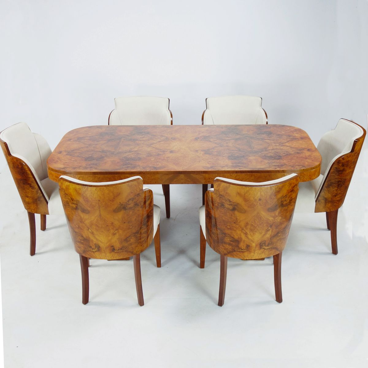 Art Deco Dining Set From Harry U0026 Lou Epstein, 1930s