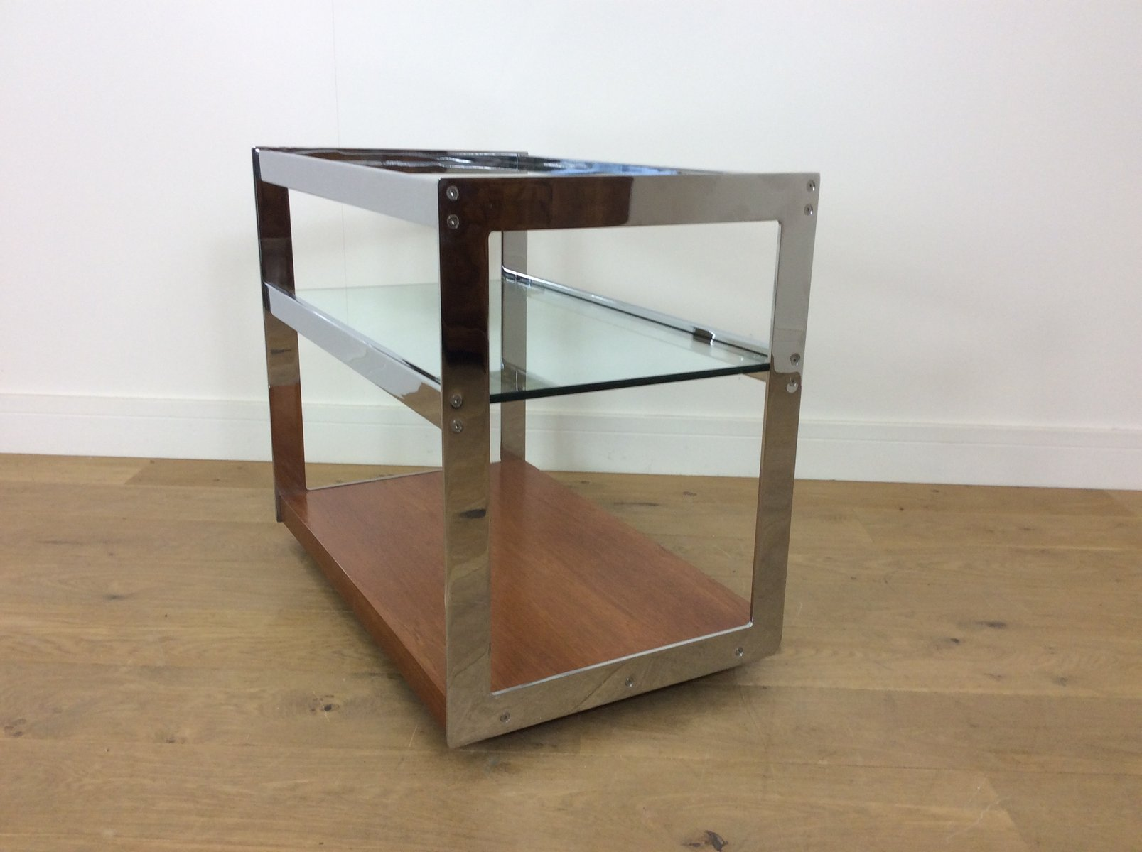 Mid century bar cart by richard young for merrow associates 1970s