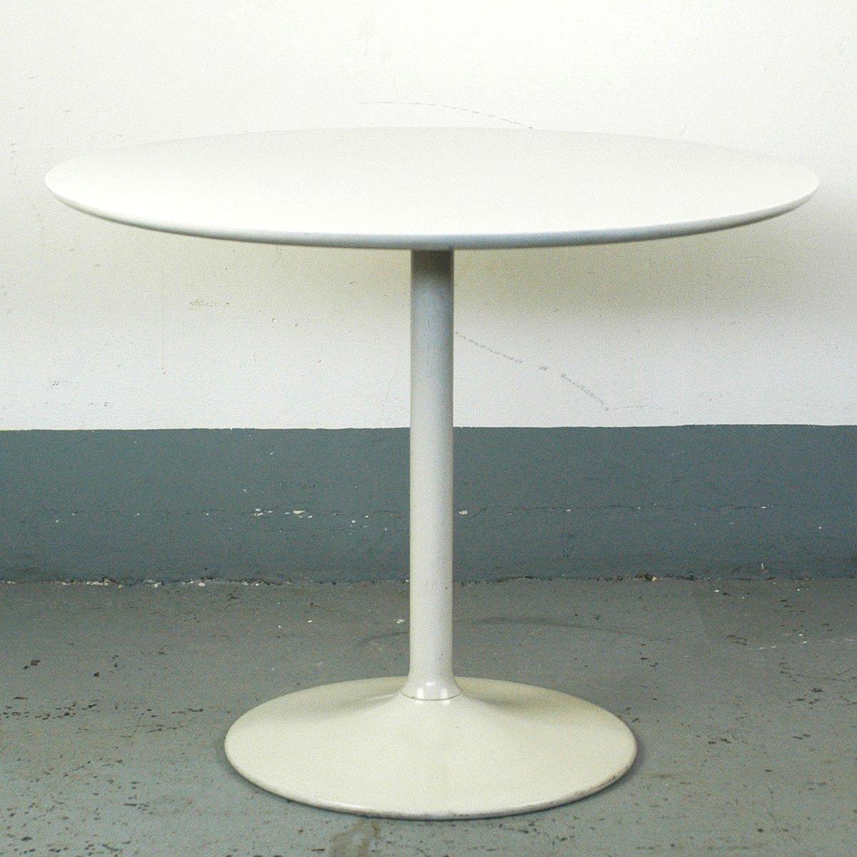 Weiß lackierter Couchtisch von Opal Möbel, 1960er