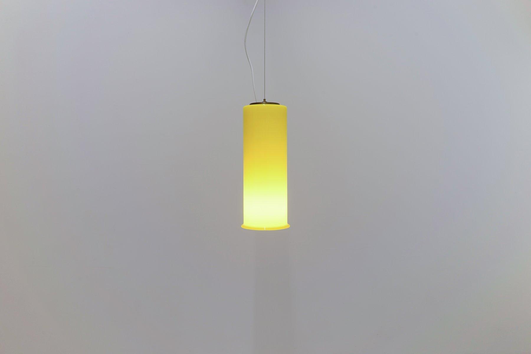 Mid-Century Murano Glass Ceiling Lamp by Bruno Gatta for Stilnovo