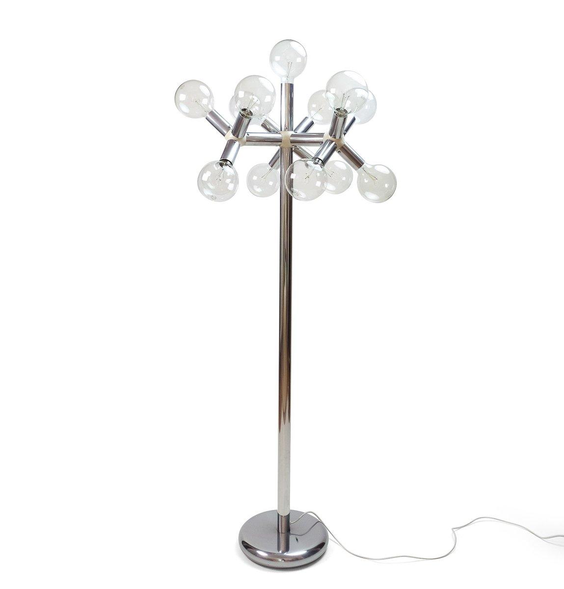 Atomic Floor Lamp by Trix Haussmann for Swiss Lamps International, 197...