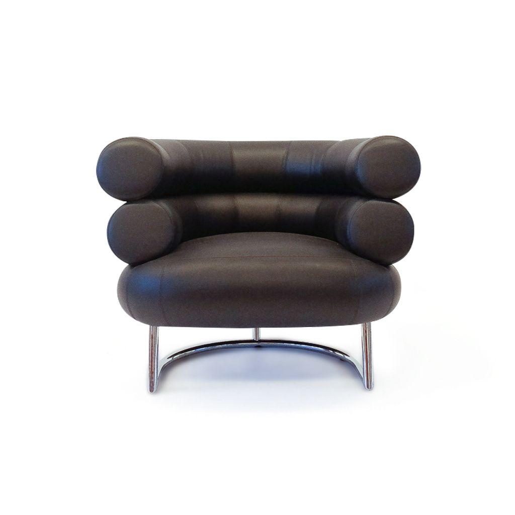 Vintage Bibendum Sessel von Eileen Gray für Vereinigte Werkstätten Col...