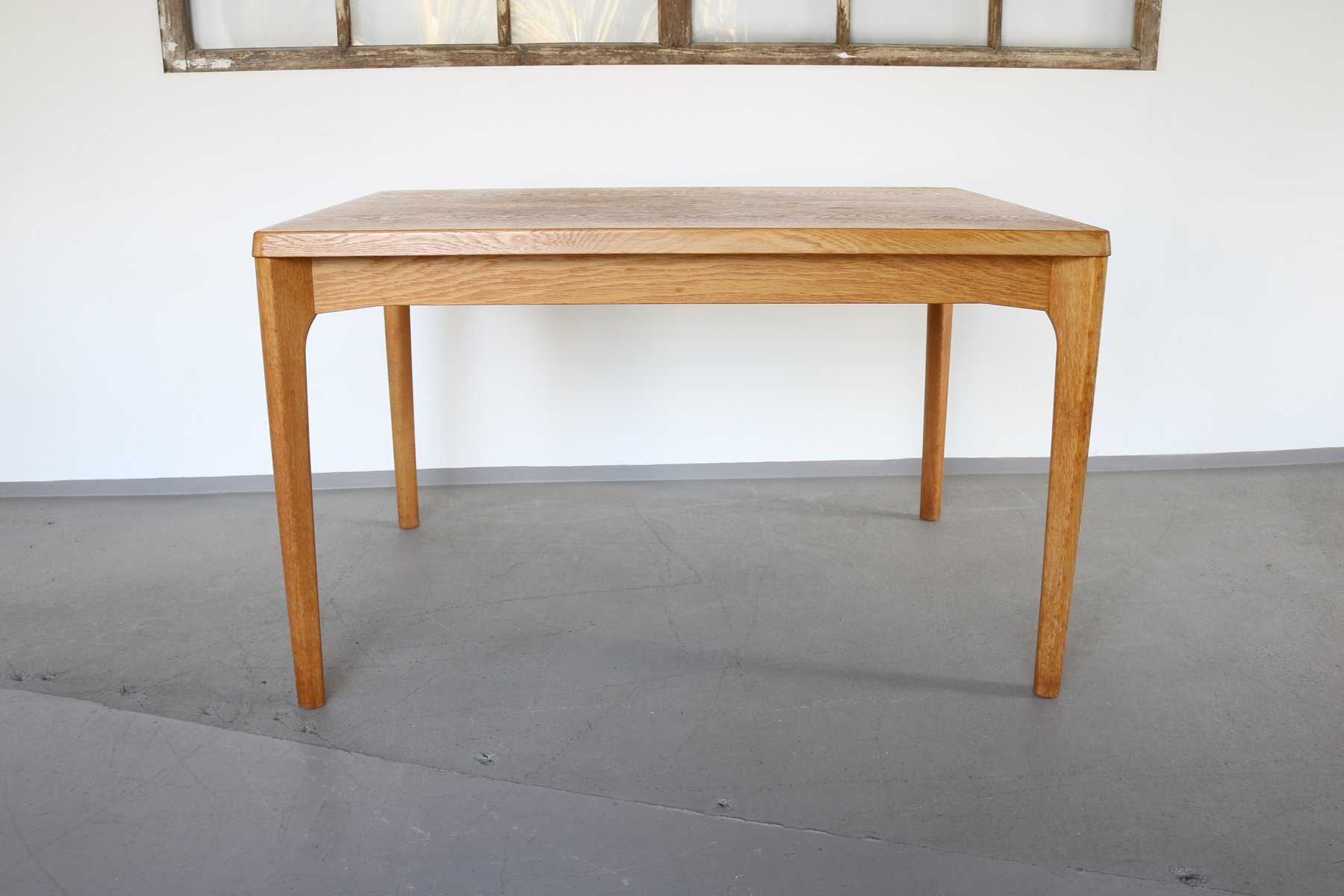 Extendable Oak Dining Table by Henning Kjaernulf for Vejle Mobelfabrik...