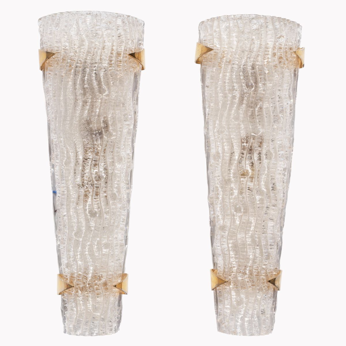 Murano Wall Lights or Sconces, 1950s, Set of 2
