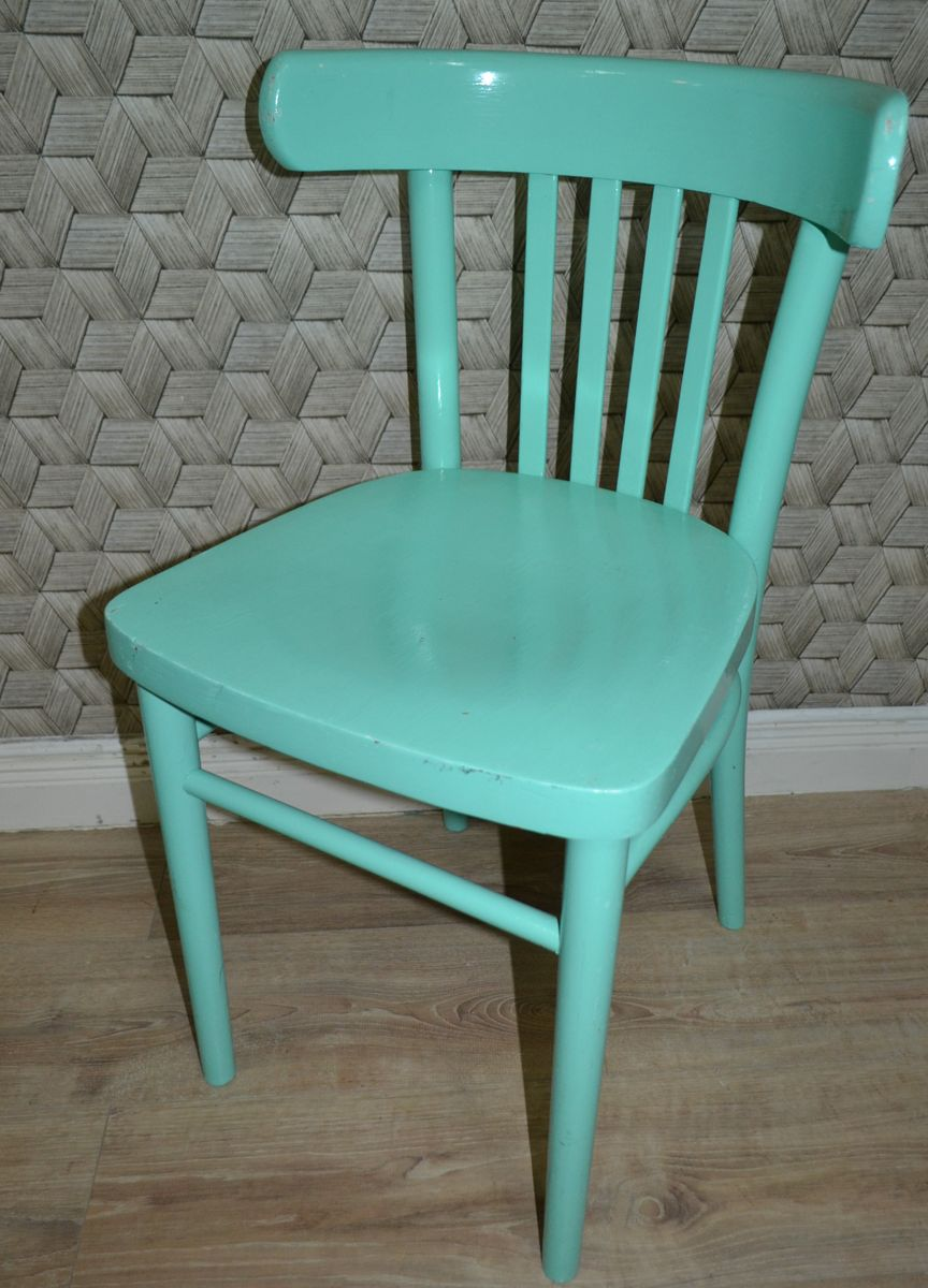 Wooden Kitchen Chairs, 1960s, Set of 6 for sale at Pamono