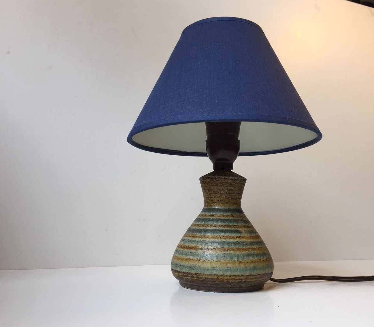 Dänische Tischlampe aus Keramik von Johannes Andersen, 1960er