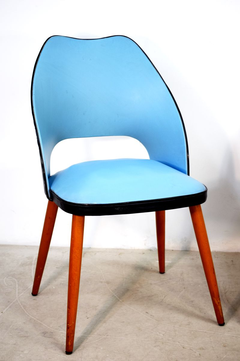 Italian Kitchen Chairs, 1950s, Set of 2 for sale at Pamono