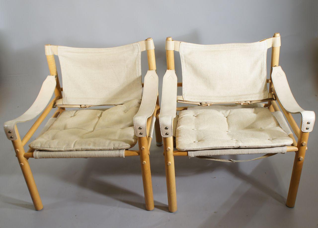 Vintage Sirocco Sessel von Arne Norell, 2er Set
