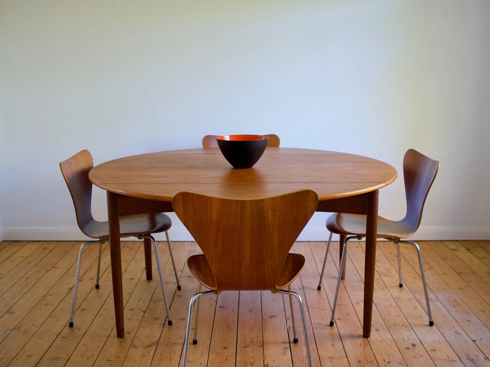 Danish Teak Oak Dining Table By Svend Madsen For Nbm 1960s Bei