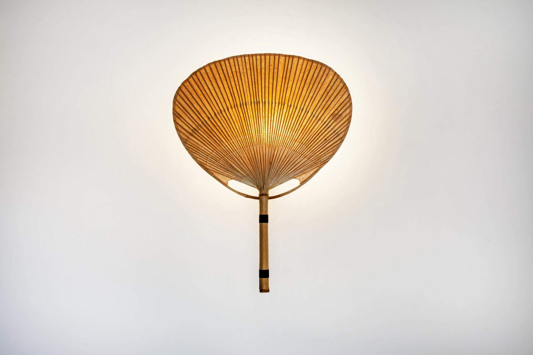 Uchiwa III Wandlampe von Ingo Maurer für Design M, 1970er