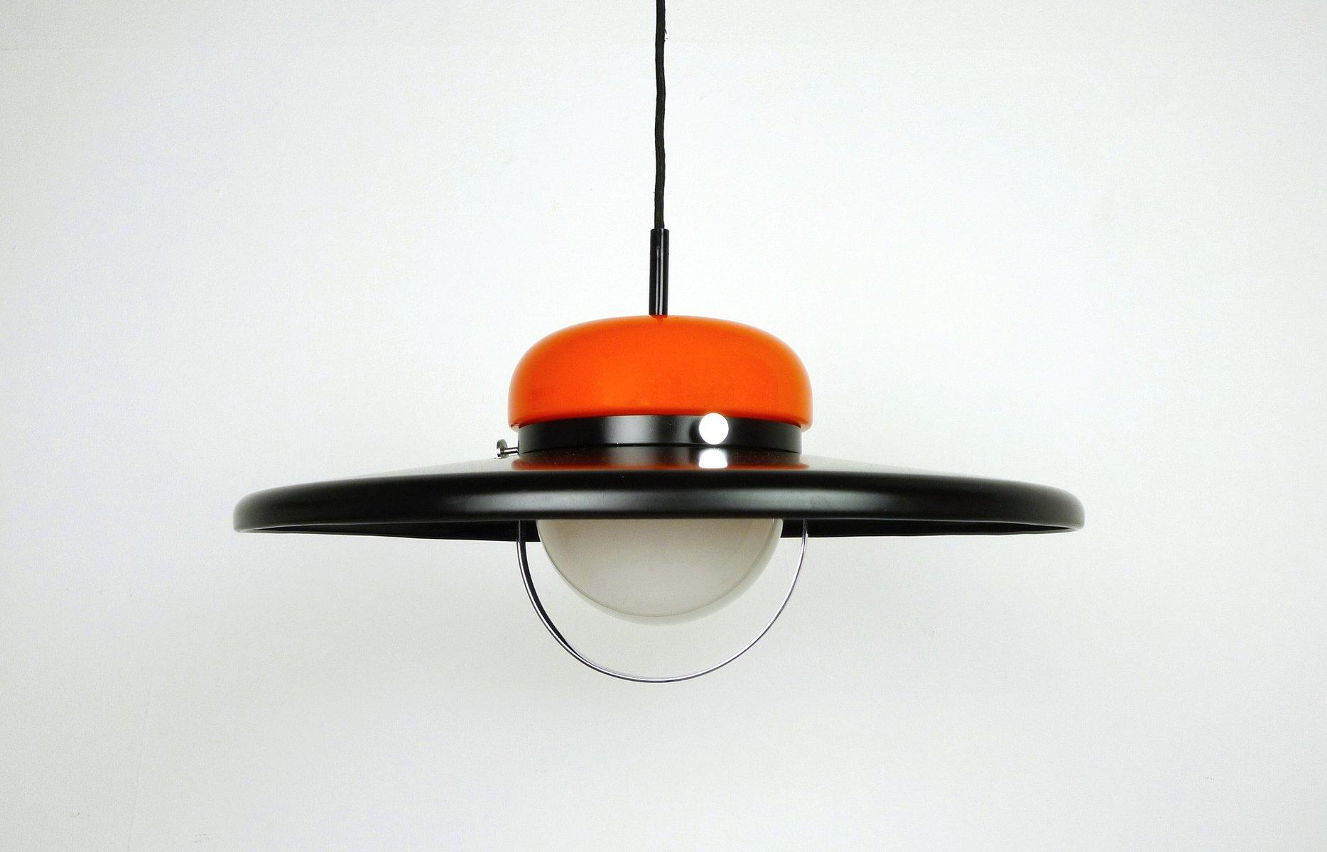 Deutsche Deckenlampe von Erco, 1970er