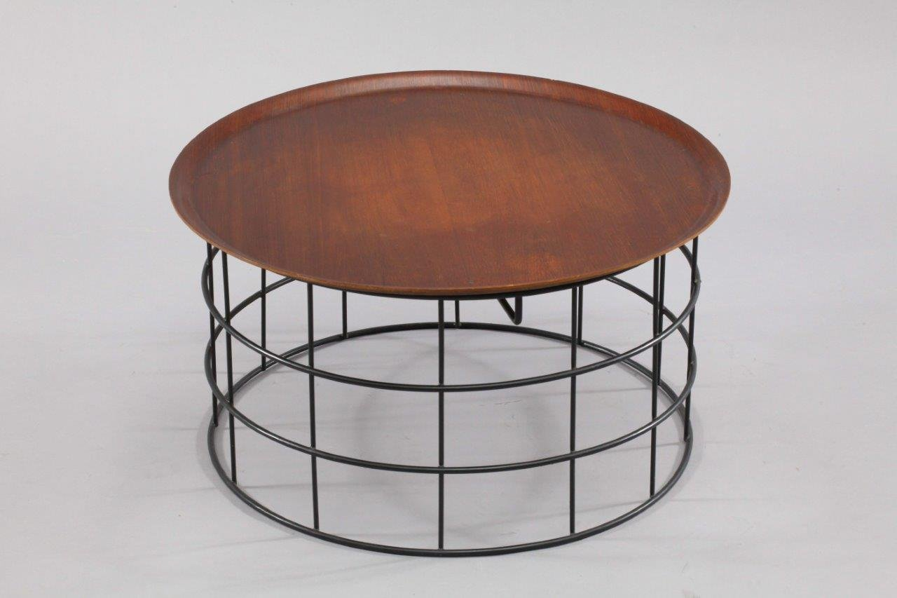 Wire coffee table by verner panton 1960
