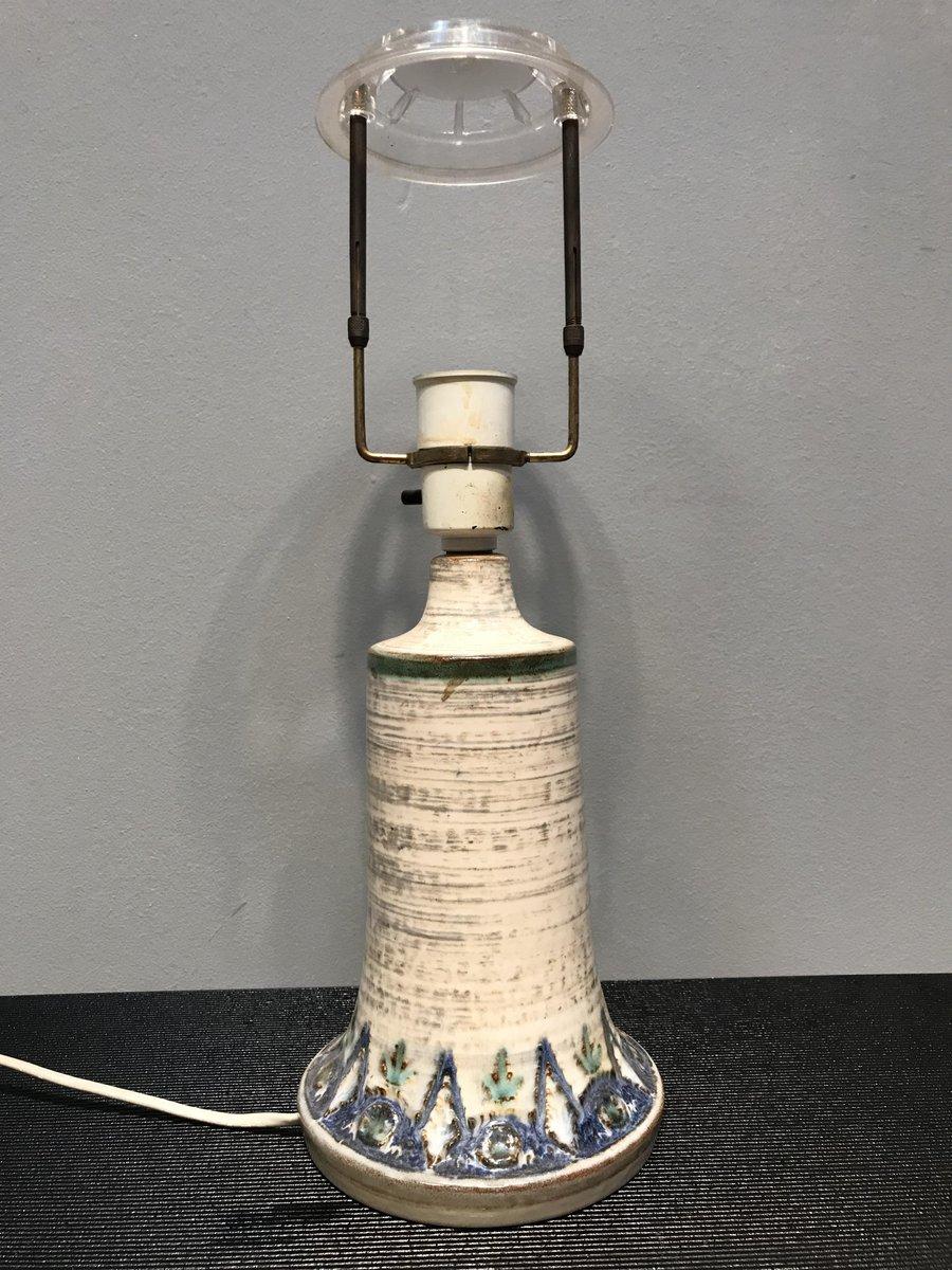 Dänische Keramiklampe, 1970er