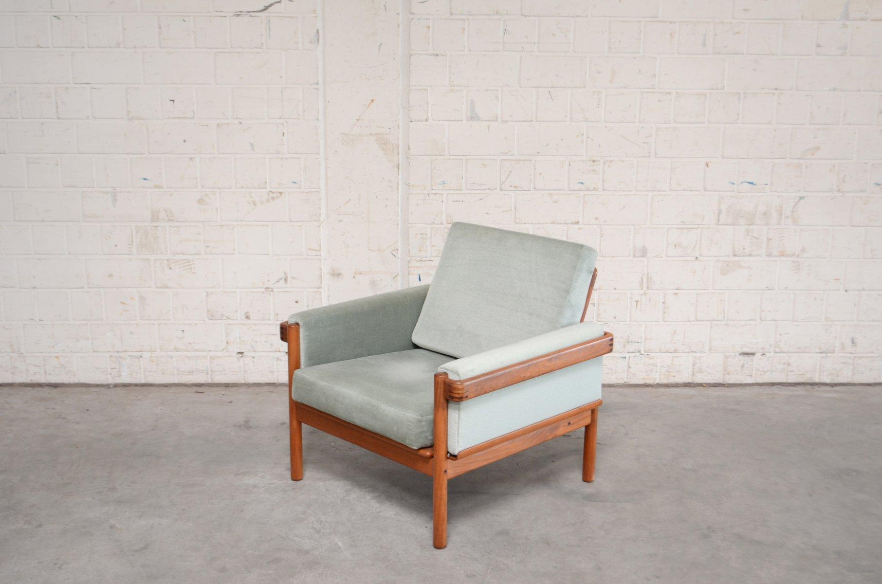 Grüne Sessel von H.W. Klein für Bramin, 1960er, 2er Set
