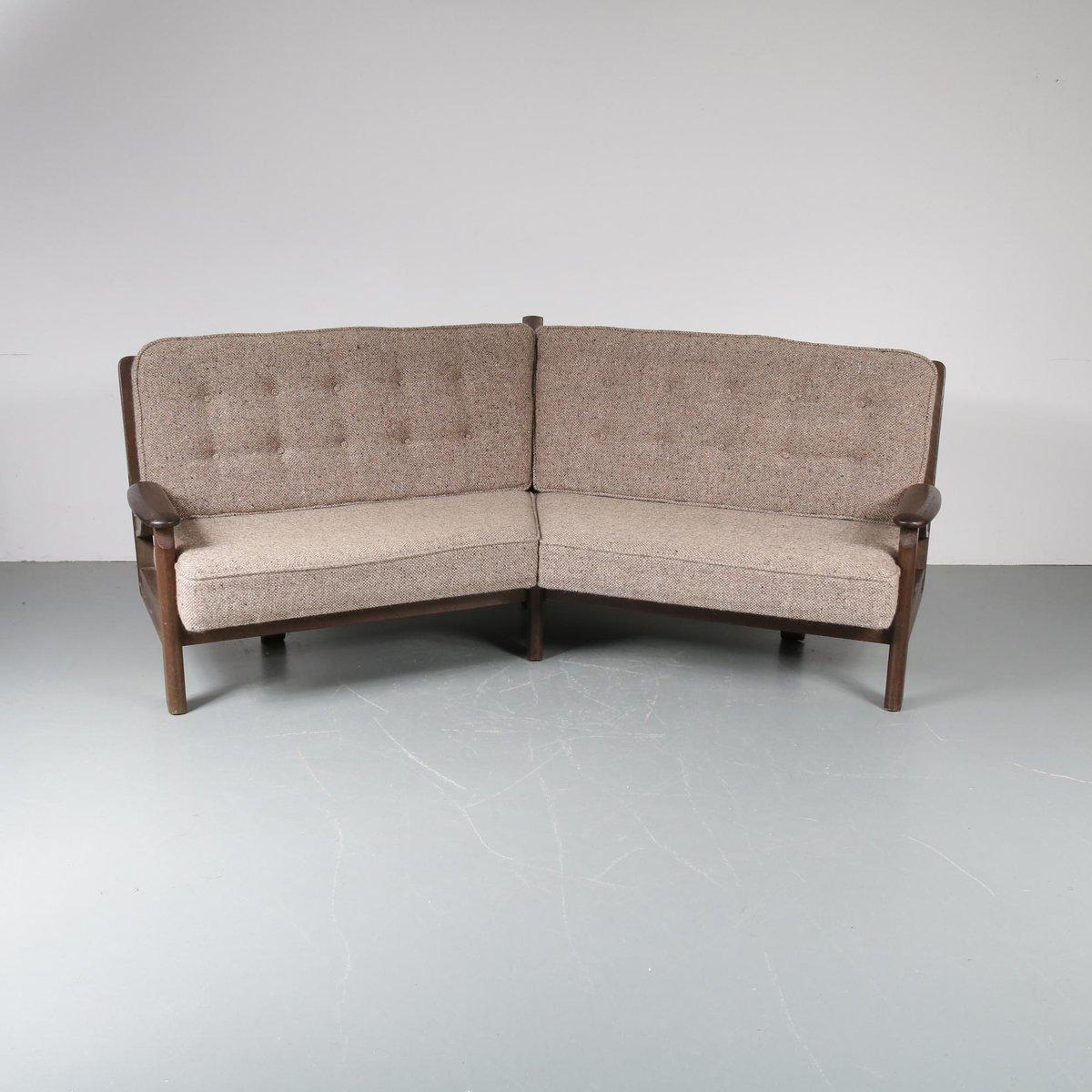 Corner Sofa Sale London: Corner Sofa By Guillerme Et Chambron, 1940s For Sale At Pamono