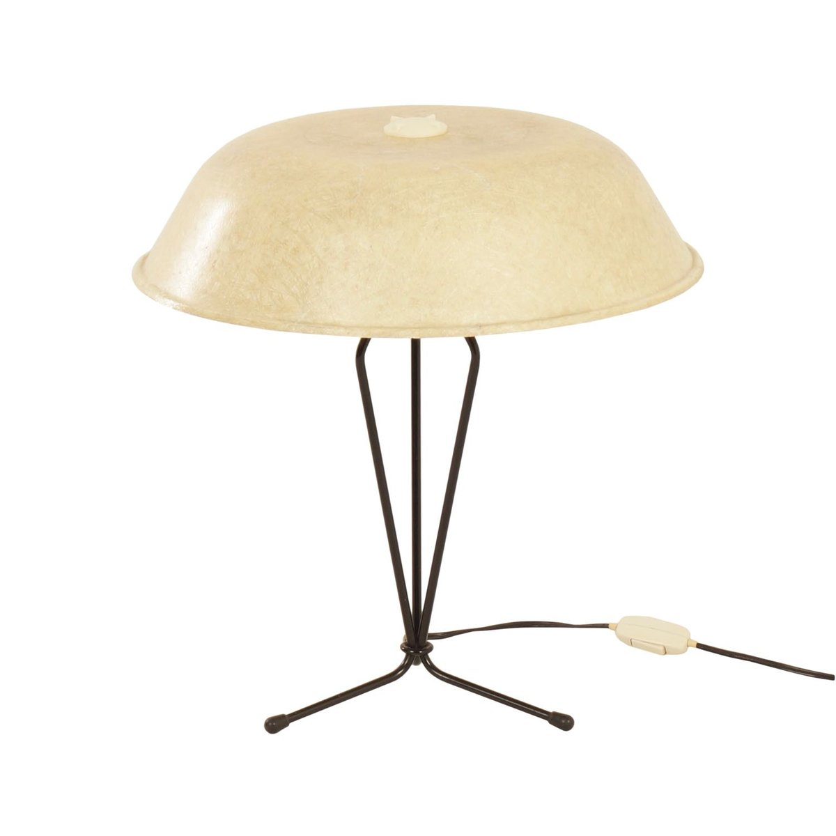 Fiberglass Table Lamp by Louis Kalff for Philips, 1950s