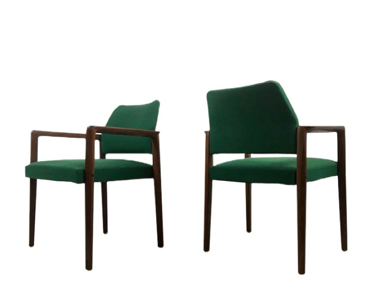 Sessel aus Teak von Wilkhahn, 1970er, 2er Set