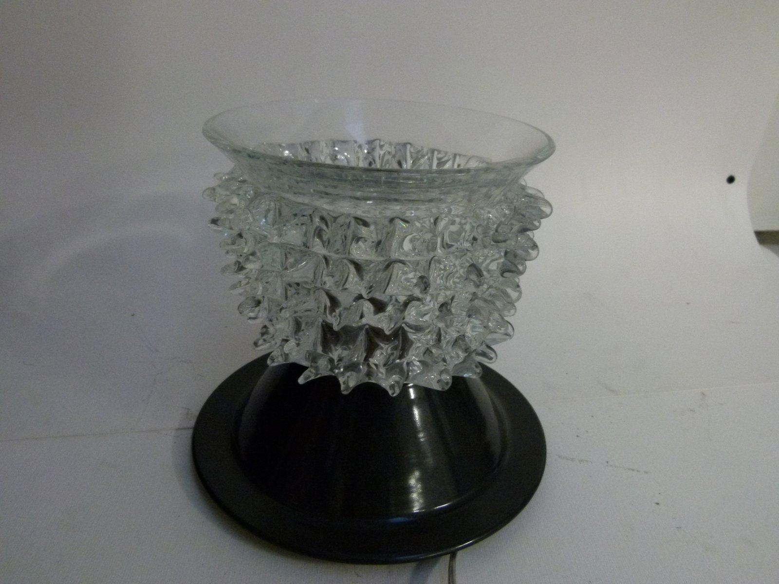 Deckenlampe von Barovier & Toso, 1980er