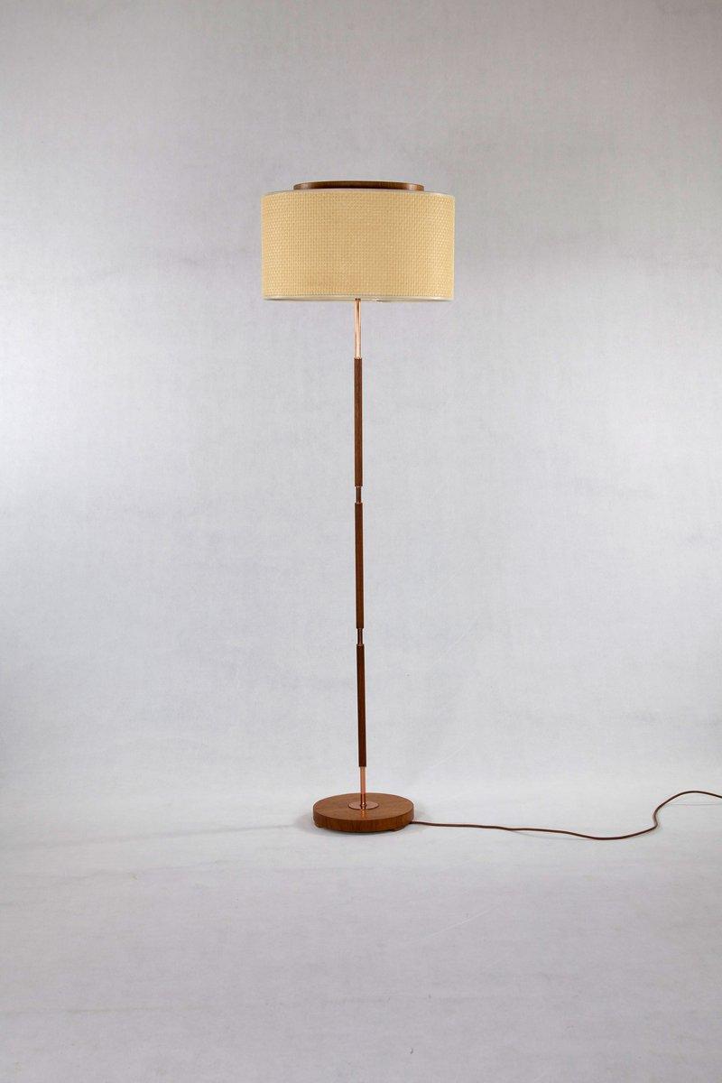 Stehlampe von Temde, 1960er