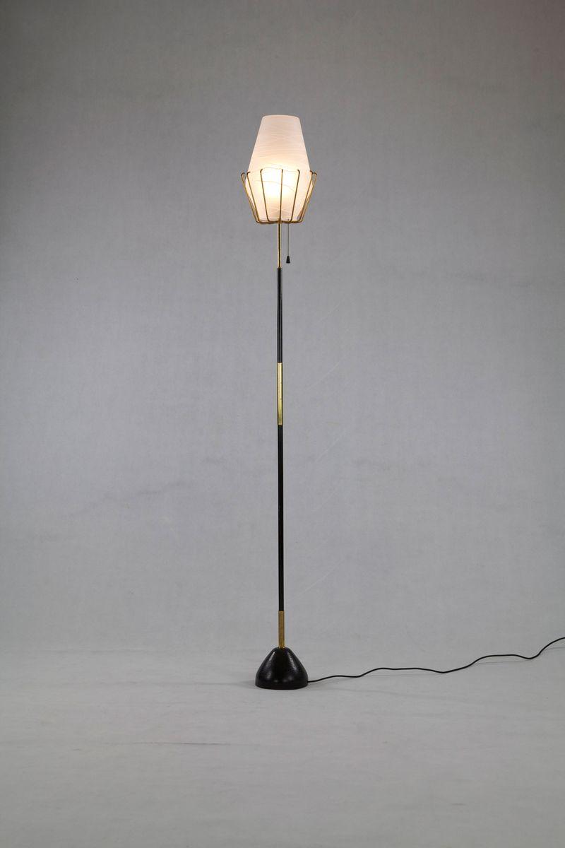 Italienische Stehlampe von Arroteoluce, 1950er